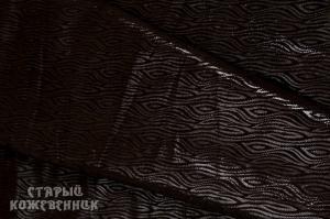 Кожа натуральная - Волна коричневая